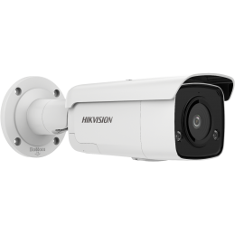 Hikvision DS-2CD2T86G2-ISU/SL 4K AcuSense Strobe Light and Audible Warning Fixed Bullet Network Camera