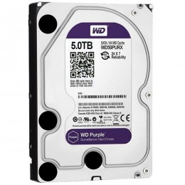 Western Digital WD Purple 5TB 64MBs 3.5 SATA HDD Surveillance CCTV Hard Drive