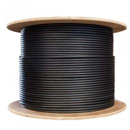 Cat6 CCTV Cable 305 Meter 100% Pure Copper Reel Drum Outdoor Indoor Black