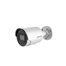 Hikvision DS-2CD2086G2-IU 4K 8MP IR 30M AcuSense Microphone Mini Bullet Network Surveillance Camera
