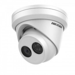 Hikvision DS-2CD2343G0-IU 4MP H.265 SD-Card 30M IR POE Microphone Turret Dome IP Network Security CCTV Camera