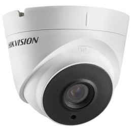 Hikvision DS-2CE56H0T-ITPF 5 MP TVI/AHD/CVI/CVBS 20M IR Analog HD Turret Surveillance Camera