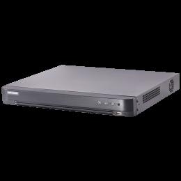 Hikvision DS-7208HUHI-K2/P 8CH POC 4K 5-in-1 5MP Turbo HD-TVI AHD IP BNC DVR NVR CCTV Video Recorder Full HD