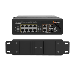 Folksafe FS-S3008EP-2C 8 Port 2 UPLINK 10/100/1000MBPS 120W Industrial Network LAN POE Switch