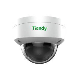 Tiandy TC-NC452 H.265 4MP Microphone WDR 120dB IR VCA POE SD-Card Audio Smart Dome IP Camera