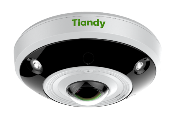 TIANDY TC-NC1261 12MP 360° PANORAMIC FISHEYE CAMERA 15M IR AUDIO