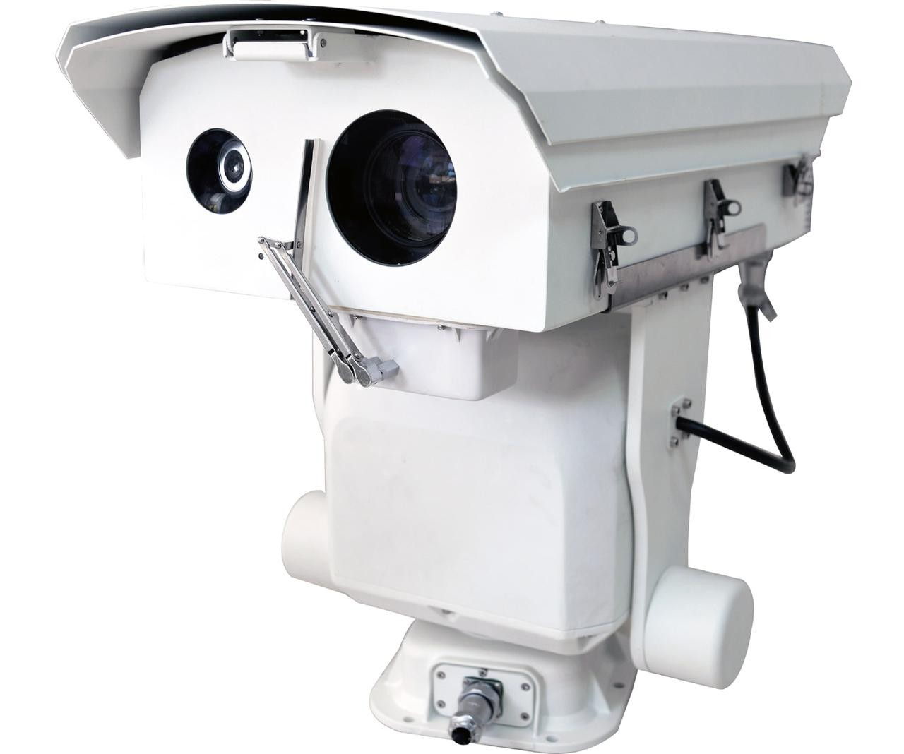 Tiandy TC-LS1000S6-2MP-A 2MP Long Range 1KM 1000 Meter Auto-focus Laser Smart IP Heavy-Duty Border Security PTZ Camera