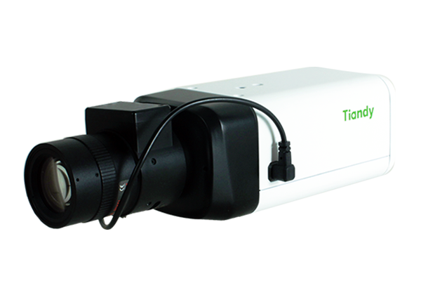 Tiandy TC-NC27VX H.265 2MP Super Starlight ABF Box Security Camera WDR 140DB SD-Card Audi 1/0 Alarm 1/0