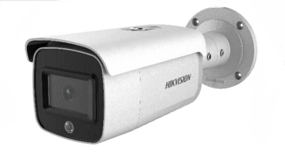 Hikvision DS-2CD2T26G1-4I/SL 2MP AcuSense Strobe Light Speaker DarkFighter Bullet Network Security Camera