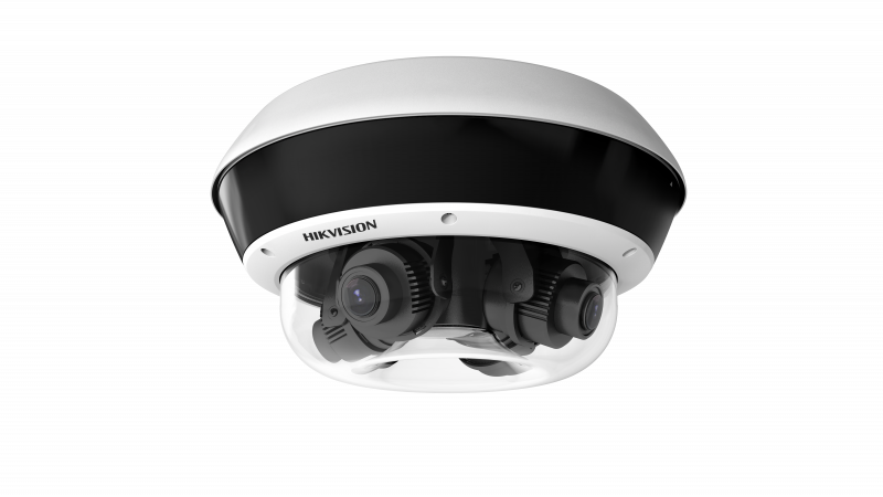 Hikvision DS-2CD6D54FWD-IZHS 20MP PanoVu 360° Panoramic 4 x 5MP Cameras Multi-Lens IP Network Security Camera