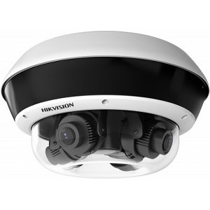 Hikvision DS-2CD6D24FWD-IZHS 8MP PanoVu 360° Panoramic 4 x 2MP Cameras Multi-Lens IP Network Security Camera
