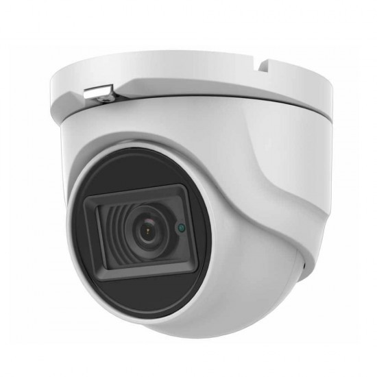 Hikvision DS-2CE76U1T-ITMF 8MP 4K TVI/AHD/CVI/CVBS IP67 30M IR Coax Analog Turret CCTV Outdoor Camera