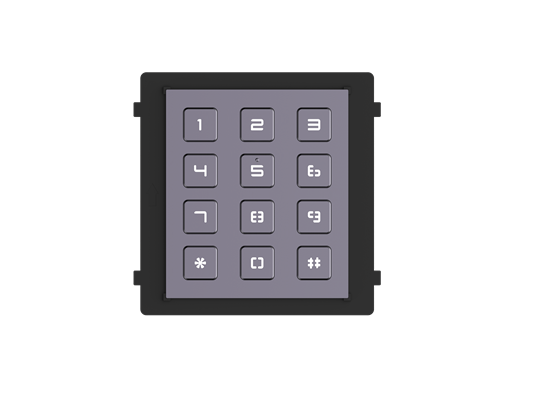 Hikvision DS-KD-KP Intercom Outdoor Station Keypad Module