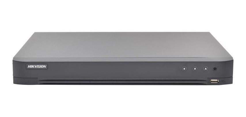 Hikvision DS-7204HQHI-K1/P 4CH 4K 3MP POC DVR Turbo HD-TVI AHD IP HD-CVI BNC Analog BNC D1 Audio Digital Video Recorder Power Over Coaxial