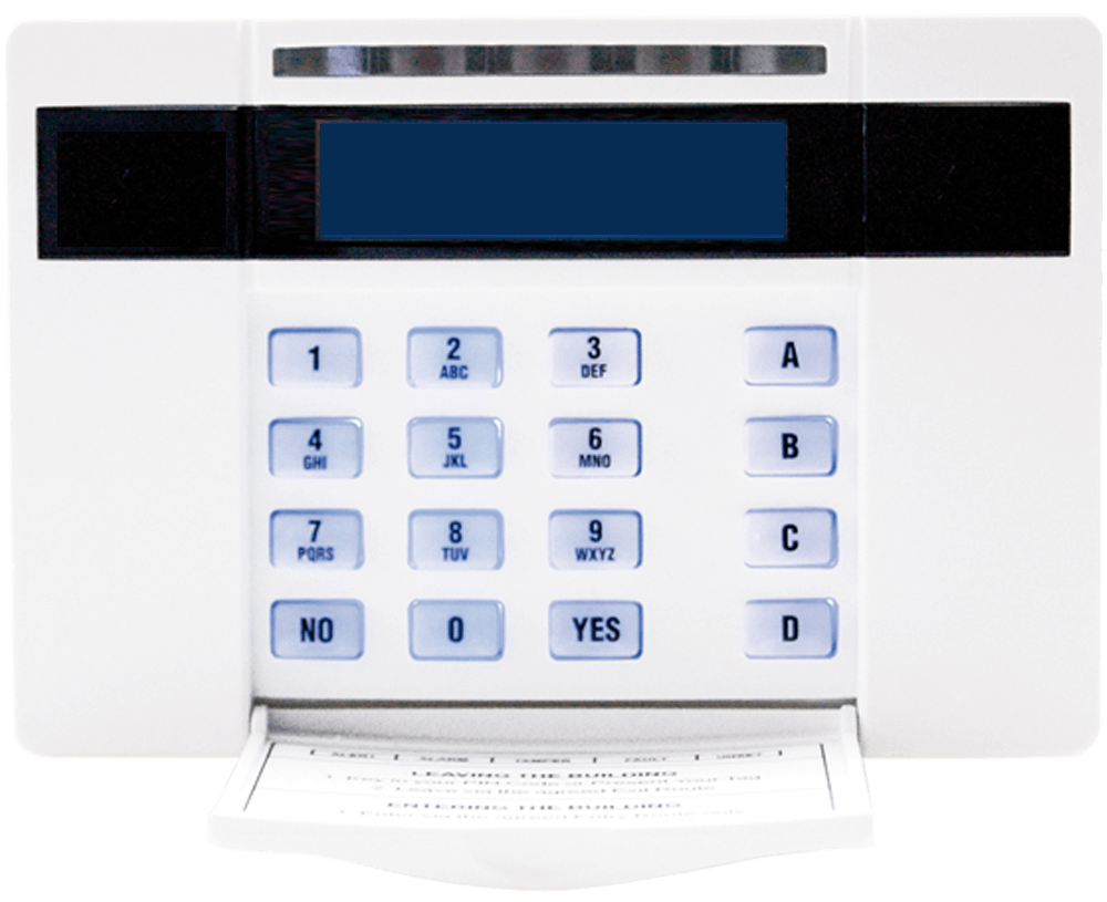 Pyronix By Hikvision EUR-068 LCD Keypad with Proximity Reader