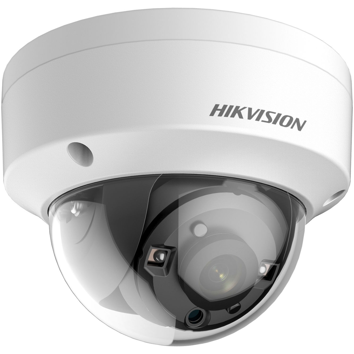 Hikvision DS-2CE57U8T-VPIT 4K UHD 8MP Ultra-Low Light 40M IR TVI Dome CCTV Security Camera
