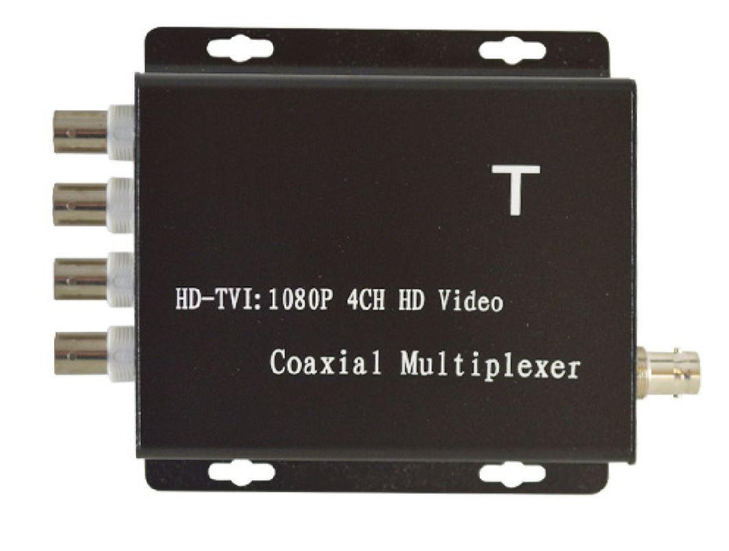 HDCM104T TVI HD 4 Channel Coaxial HD Video Coax Multiplexer