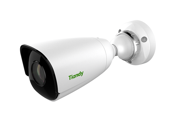 Tiandy TC-NC514S 5MP Starlight H.265 IR WDR 120dB EXIR VCA POE SD-CARD Smart Bullet IP Camera Low Light