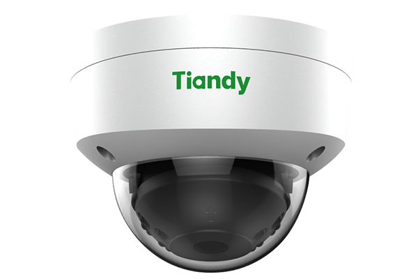 Tiandy TC-NC552S 5MP Starlight Microphone POE SD-Card Vandal Proof Dome IP Camera WDR IR VCA