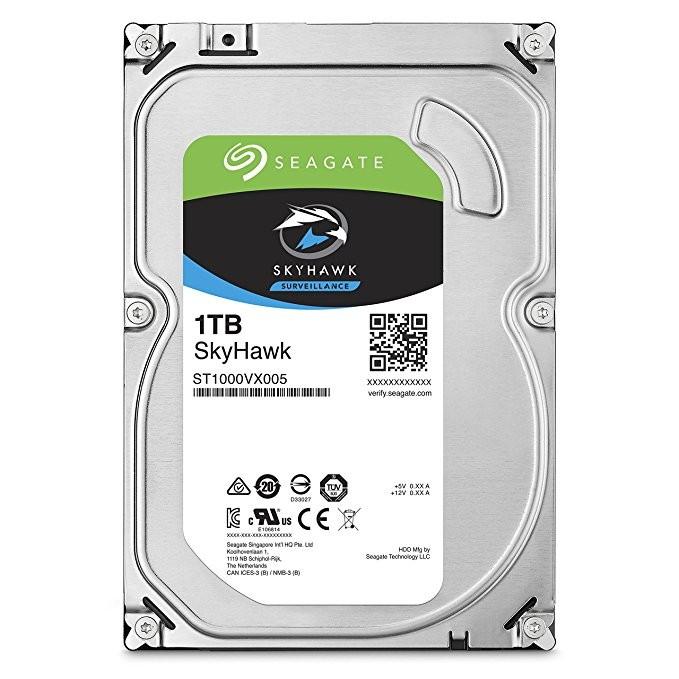 Seagate 1TB SKYHAWK 64MB 3.5 HDD Surveillance CCTV Hard Drive