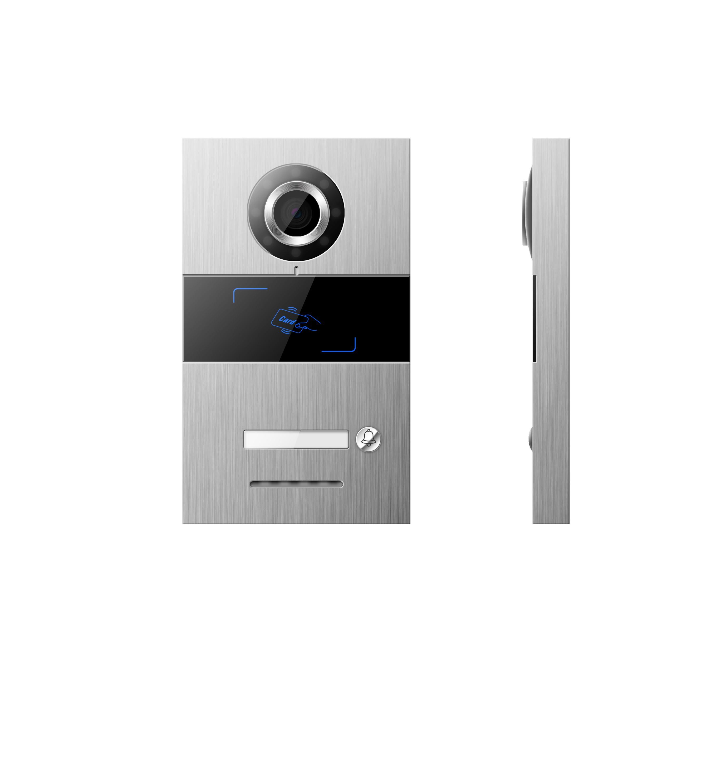GVS H-VS02 IP Outdoor Station Villa Intercom with Card Reader Silver