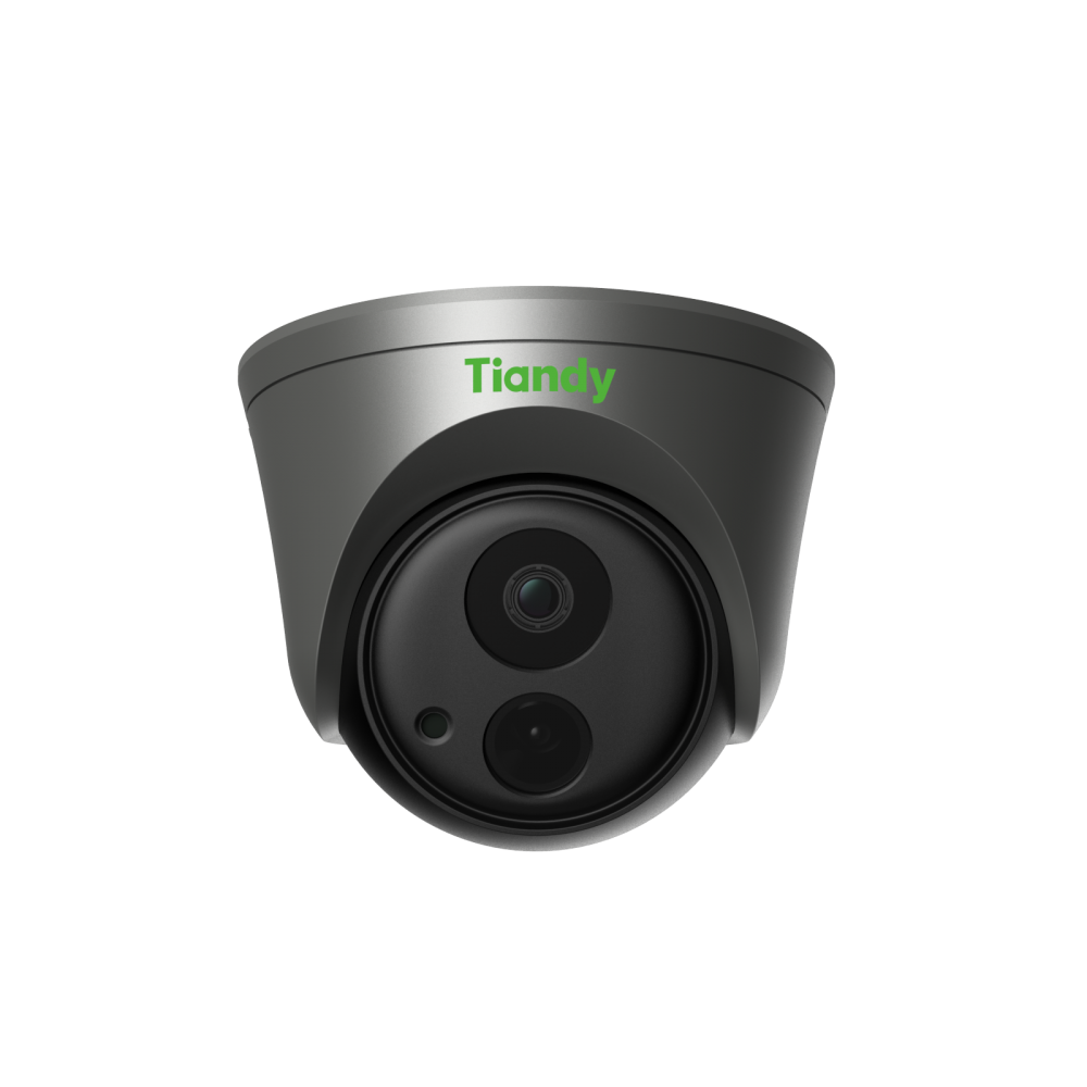 Tiandy TC-A52F2 2MP AI Face Recognition Alert Turret POE IP Security Camera