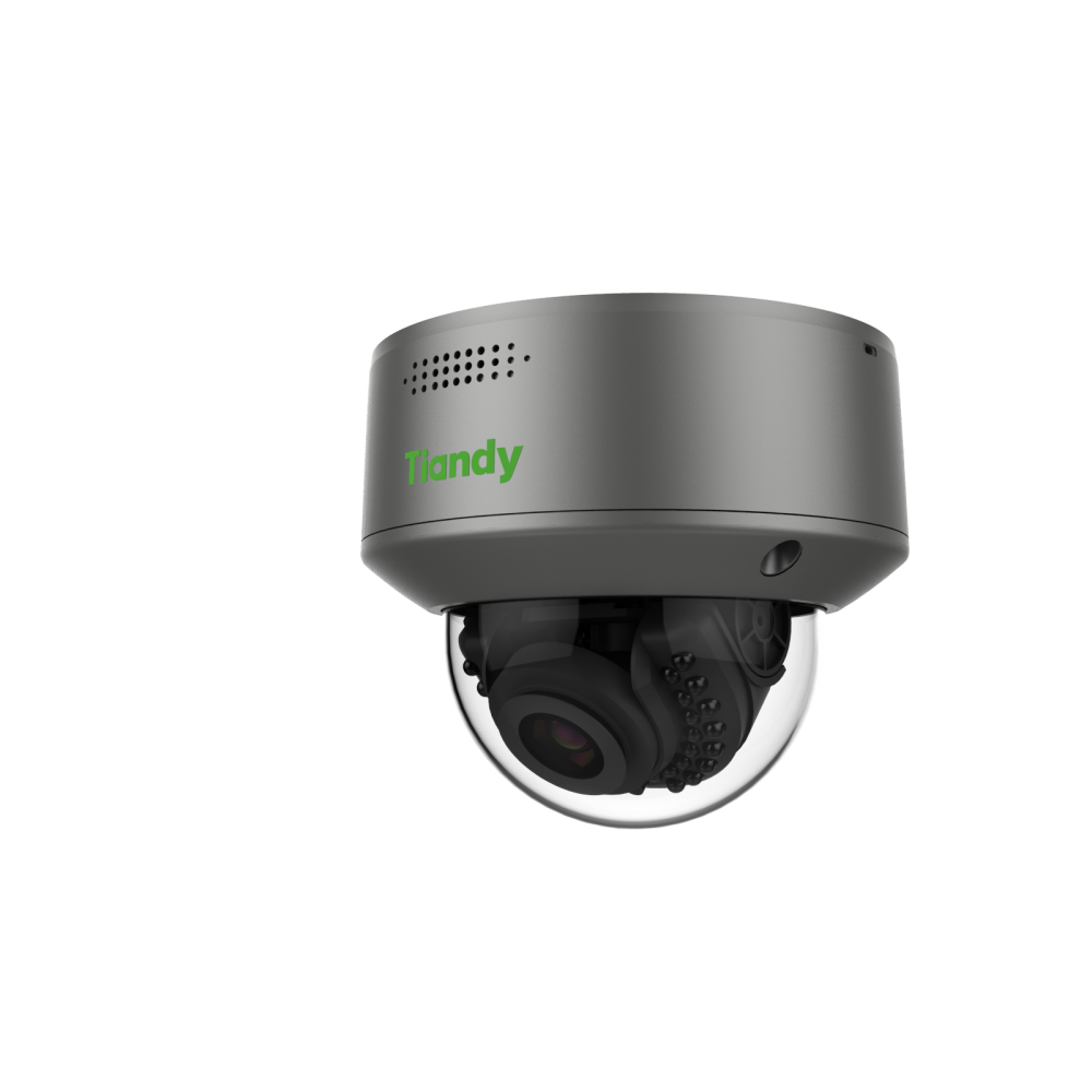 Tiandy TC-A52M4 2MP AI Face Recognition with Database Dome IP Camera POE Mic & Speaker Super Starlight
