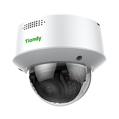 Tiandy TC-C32MG 2.8-12MM Super Starlight 2MP Microphone & Speaker Deterrent/Warning System VCA POE Smart IP Camera Ultra Low Light