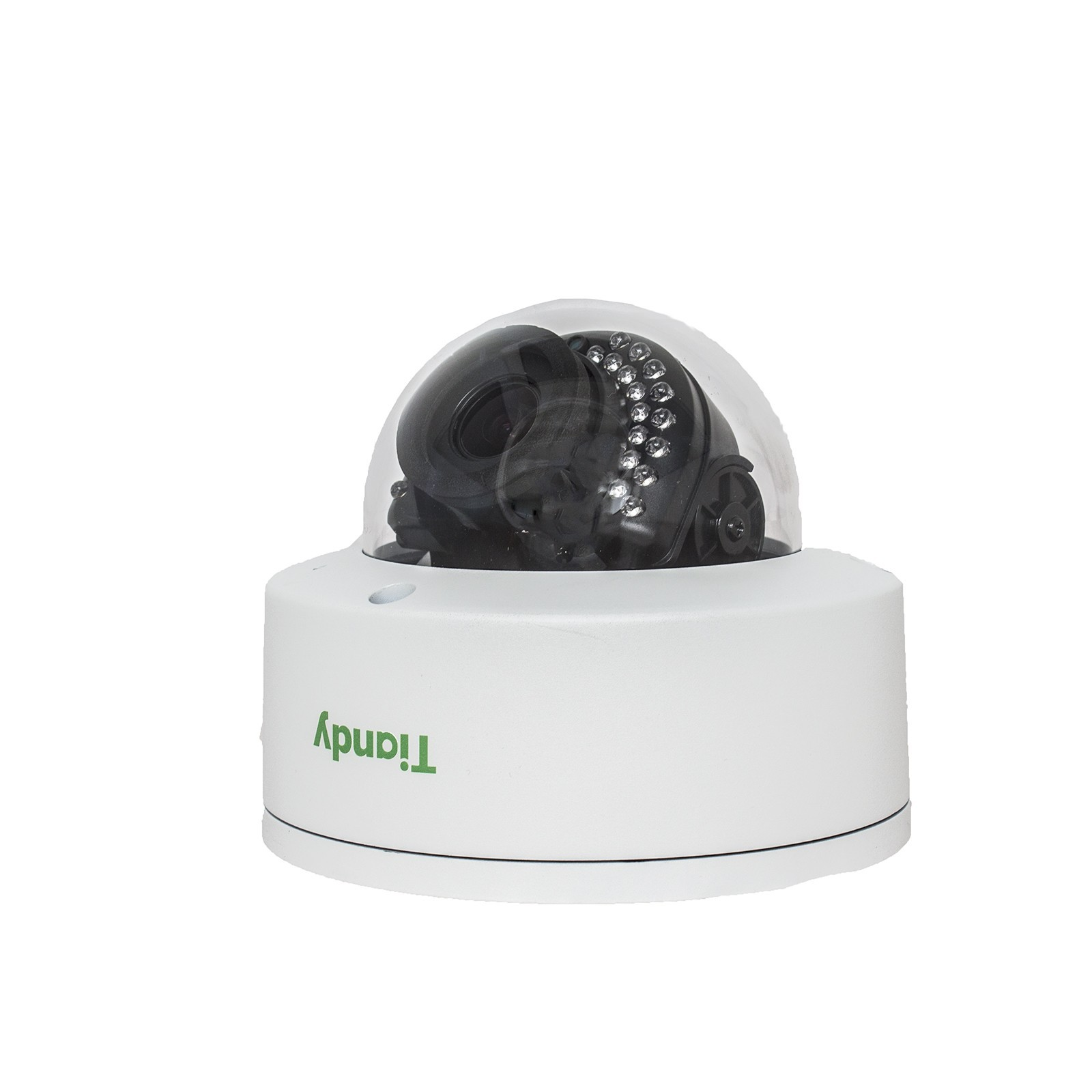 Tiandy TC-NC24V H.264 2MP 2.8-12MM Verifocal Lens Microphone WDR VCA Tripwire POE Audio SD-Card Smart IP Dome Camera