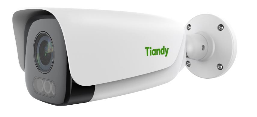 Tiandy TC-C35LQ 5MP 2.8-12mm Mic Speaker Starlight H.265 IR Low Light WDR 120dB POE VCA Smart Bullet IP Camera