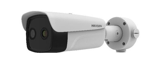 Hikvision DS-2TD2617B-6/PA Fever Screening Thermographic Bullet Body Temperature Measurement Bullet CCTV Camera