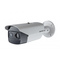 Hikvision DS-2TD2636-15 15mm 3D DNR 8x Dgital Zoom PoE Audio & Alarm I/O IP66 Thermal & Optical Bi-Spectrum Network Bullet Camera