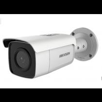 Hikvision DS-2CD2T46G1-4I/SL 4MP DarkFighter 80M IR Strobe Light & Audio Alarm Smart Bullet Network Security IP Camera
