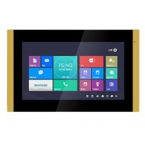"""GVS H-IS06 IP POE Video Intercom Indoor Station 10.1"""" Touch Screen Monitor 24V Gold"""