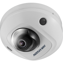 Hikvision DS-2CD2563G0-IS 6MP Microphone SD-Card 10M IR POE Mini Dome Network IP Security Camera