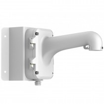 Hikvision DS-1604ZJ-Corner PTZ Long Arm Wall Corner Mount Bracket For Analog Turbo HD IP CCTV Security Camera DS-2DE7186-A DS-2DF5274-A DS-2DF5284-A DS-2DF7274-A DS-2DF7274-AEL DS-2DF7284-A DS-2DF7284-AW DS-2DF7286-A DS-2DF7286-AEL