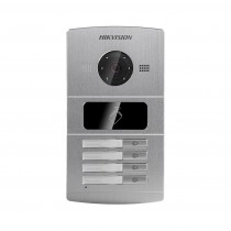 Hikvision DS-KV8402-IM 4-WAY Villa Video Door Bell Entry Station Intercom Access Control Waterproof Metal 4 Button
