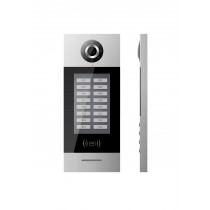 GVS T-OS02 2-Wire Multi Apartment Touch Outdoor Station Intercom with Card Reader
