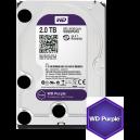 Western Digital WD Purple 2TB 64MBs 3.5 SATA HDD Surveillance CCTV Hard Drive