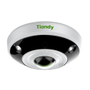Tiandy TC-NC1261 12MP Fisheye 360° Panoramic Heat Map 4K 15M IR Audio Alarm H.265 SD-Card Video Analysis Object Tracking Smart Ultra HD IP Camera