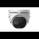 Hikvision DS-2TD1217-2/V1 Thermal & Optical Deep Learning Bi-spectrum Network Turret Camera