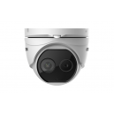 Hikvision DS-2TD1217-6/V1 Deep Learning Thermal & Optical Network Turret Camera