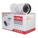 Hikvision 5MP 8-16 IP Camera Kit Bundle Complete Mini Bullet CCTV System H.265 4K UHD 8CH 16CH NVR Cables Monitor 1TB-40TB HDD