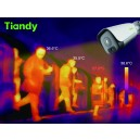 Tiandy TC-C34LP Thermal & Optical Bi-spectrum with Blackbody Fever Screening Body Temperature IP Bullet Camera