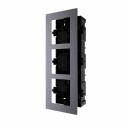 Hikvision DS-KD-ACF3/PLASTIC Intercom Outdoor Station 3 Module Bracket