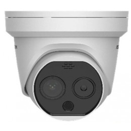 Hikvision DS-2TD1217B-6/PA Fever Screening Thermographic Turret Body Temperature Measurement Turret Camera
