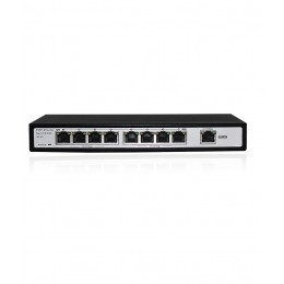 Folksafe 8 Port 1 UPLINK 120W POE Network LAN Switch 10/100MBPS IEEE 802.3 af/at 10/100MBPS