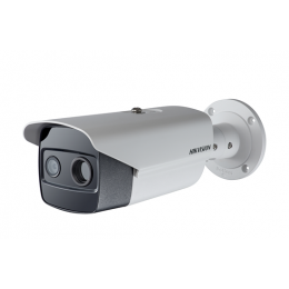Hikvision DS-2TD2615-7 7mm PoE Thermal & Optical Network IP Bullet Security Camera