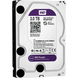 Western Digital WD Purple 3TB 64MBs 3.5 SATA HDD Surveillance CCTV Hard Drive