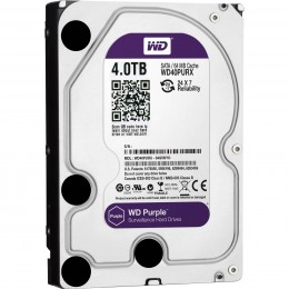 Western Digital WD Purple 4TB 64MBs 3.5 SATA HDD Surveillance CCTV Hard Drive